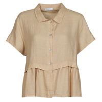 Odjeća Žene  Topovi i bluze Fashion brands 10998-BEIGE Bež