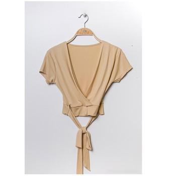 Odjeća Žene  Topovi i bluze Fashion brands FR029T-BEIGE Bež