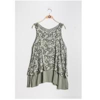 Odjeća Žene  Topovi i bluze Fashion brands 9673-KAKI Kaki