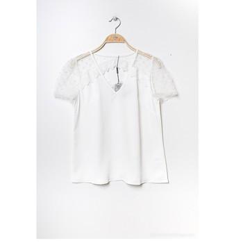 Odjeća Žene  Topovi i bluze Fashion brands K5518-WHITE Bijela