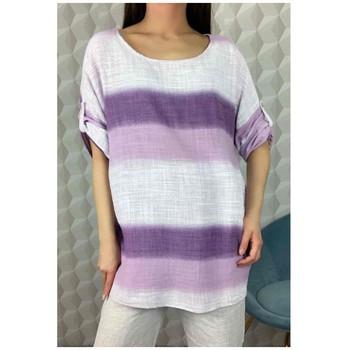 Odjeća Žene  Topovi i bluze Fashion brands 156485V-LILAC Ljubičasta