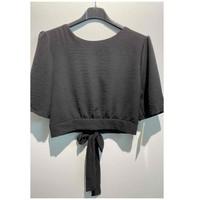 Odjeća Žene  Topovi i bluze Fashion brands 5172-BLACK Crna