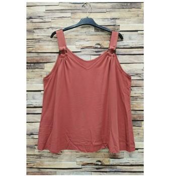 Odjeća Žene  Topovi i bluze Fashion brands 3841-RASPBERRY Ružičasta