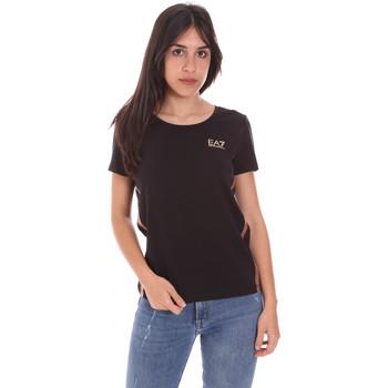 Odjeća Žene  Majice kratkih rukava Ea7 Emporio Armani 3KTT51 TJ9VZ Crno