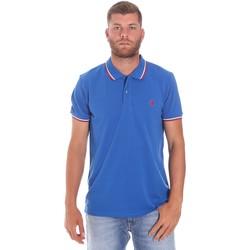 Odjeća Muškarci  Polo majice kratkih rukava Lumberjack CM45940 016EU Plava