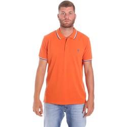 Odjeća Muškarci  Polo majice kratkih rukava Lumberjack CM45940 016EU Naranča