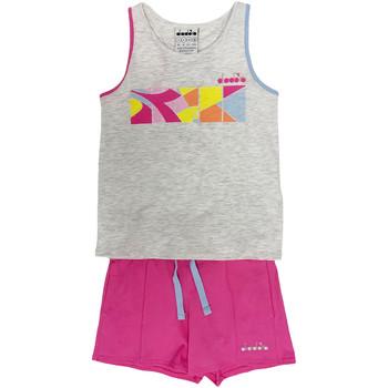 Odjeća Djeca Dvodijelne trenirke Diadora 102175900 Siva