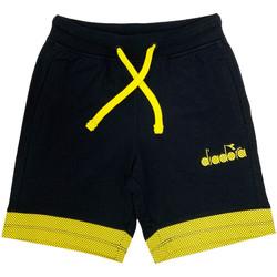 Odjeća Djeca Bermude i kratke hlače Diadora 102175908 Crno