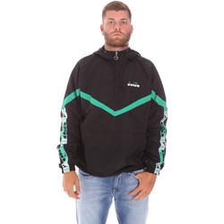 Odjeća Muškarci  Kratke jakne Diadora 502175815 Crno