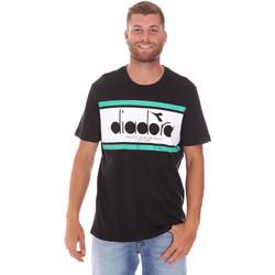 Odjeća Muškarci  Majice kratkih rukava Diadora 502176632 Crno