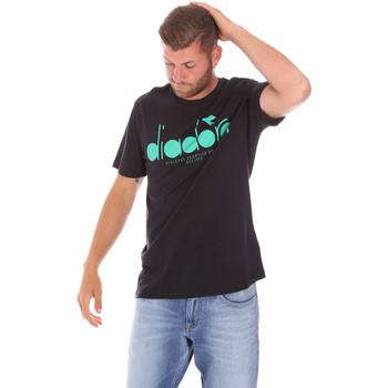 Odjeća Muškarci  Majice kratkih rukava Diadora 502176633 Crno
