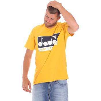 Odjeća Muškarci  Majice kratkih rukava Diadora 502175835 Žuta boja