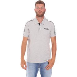 Odjeća Muškarci  Polo majice kratkih rukava Diadora 102175672 Siva