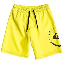 Odjeća Djeca Kupaći kostimi / Kupaće gaće Quiksilver ECLIPSE VL AQBJV03011 Žuta