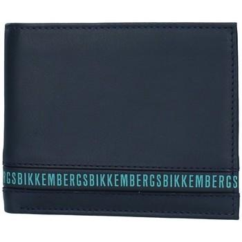 Torbe Muškarci  Novčanici Bikkembergs E2BPME2D3043 BLUE