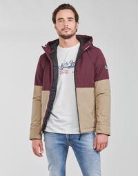 Odjeća Muškarci  Kratke jakne Jack & Jones JORBOBBY Ljubičasta / Smeđa
