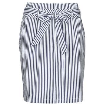 Odjeća Žene  Suknje Vero Moda VMEVA Blue / Bijela