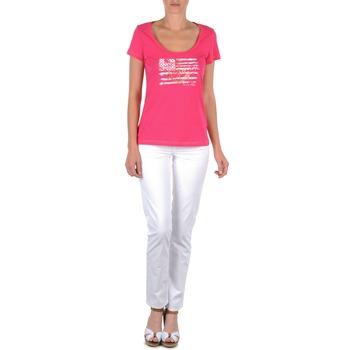 Odjeća Žene  Hlače s pet džepova Tommy Hilfiger LENNY Ružičasta