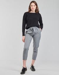 Odjeća Žene  Chino hlačei hlače mrkva kroja Only ONLNICOLE Siva