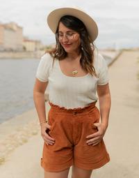 Odjeća Žene  Topovi i bluze Céleste ERABLE Krem boja
