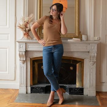 Odjeća Žene  Topovi i bluze Céleste ERABLE Camel