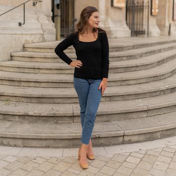 Odjeća Žene  Puloveri Céleste NYSSA Crna