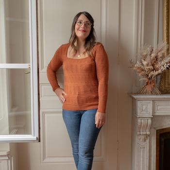 Odjeća Žene  Puloveri Céleste NYSSA Boja hrđe