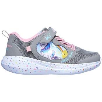 Obuća Djevojčica Niske tenisice Skechers GO Run Fast Miss Crafty Siva