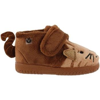 Obuća Djeca Papuče za bebe Victoria Chaussures enfant  animaux camel