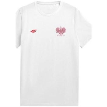 Odjeća Muškarci  Majice kratkih rukava 4F TSM950 Bijela
