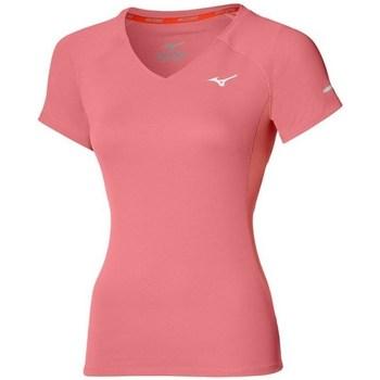 Odjeća Žene  Majice kratkih rukava Mizuno Drylite Tee W Ružičasta