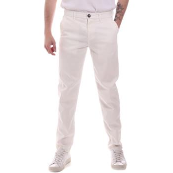 Odjeća Muškarci  Chino hlačei hlače mrkva kroja Sseinse PSE699SS Bijela