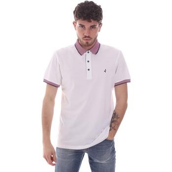 Odjeća Muškarci  Polo majice kratkih rukava Navigare NV82125 Bijela