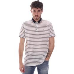 Odjeća Muškarci  Polo majice kratkih rukava Navigare NV70034 Bijela