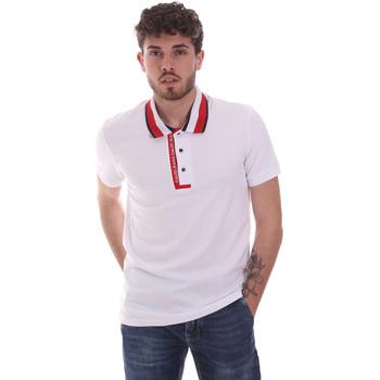 Odjeća Muškarci  Polo majice kratkih rukava Gaudi 111GU64105 Bijela