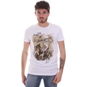 Odjeća Muškarci  Majice kratkih rukava Gaudi 111GU64091 Bijela