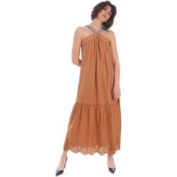 Odjeća Žene  Duge haljine Gaudi 111FD15012 Smeđa