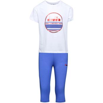 Odjeća Djeca Dvodijelne trenirke Diadora 102175918 Bijela