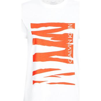 Odjeća Žene  Majice kratkih rukava Calvin Klein Jeans K20K203030 Bijela