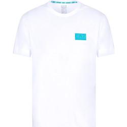 Odjeća Muškarci  Majice kratkih rukava Ea7 Emporio Armani 3KPT50 PJAMZ Bijela