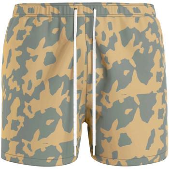 Odjeća Muškarci  Kupaći kostimi / Kupaće gaće Calvin Klein Jeans KM0KM00614 Zelena