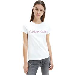 Odjeća Žene  Majice kratkih rukava Calvin Klein Jeans K20K201852 Bijela
