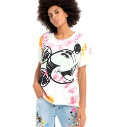 Odjeća Žene  Majice kratkih rukava Fracomina FD21ST3024J400N5 Bijela