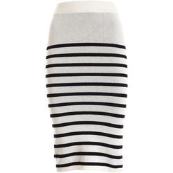 Odjeća Žene  Suknje Fracomina F321SG2001K45501 Bijela