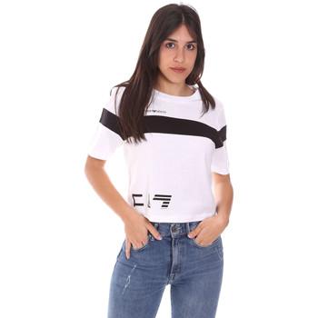 Odjeća Žene  Majice kratkih rukava Ea7 Emporio Armani 3KTT05 TJ9ZZ Bijela
