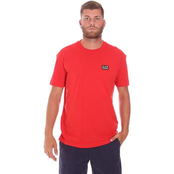 Odjeća Muškarci  Majice kratkih rukava Ea7 Emporio Armani 3KPT63 PJ6EZ Crvena