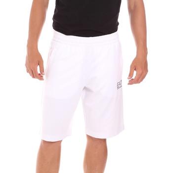Odjeća Muškarci  Kupaći kostimi / Kupaće gaće Ea7 Emporio Armani 3KPS59 PJ05Z Bijela