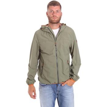 Odjeća Muškarci  Kratke jakne Lumberjack CMB3223 001EU Zelena