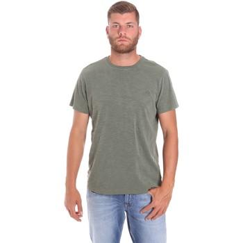 Odjeća Muškarci  Majice kratkih rukava Lumberjack CM60343 021EU Zelena