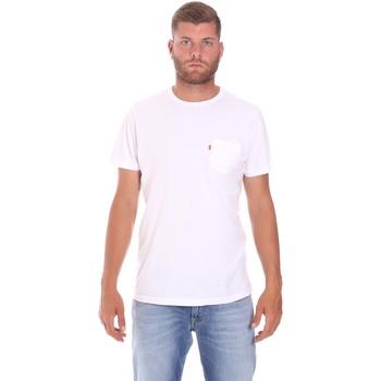 Odjeća Muškarci  Majice kratkih rukava Lumberjack CM60343 022EU Bijela